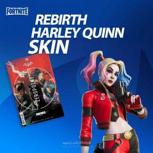 خرید کد Rebirth Harley Quinn Skin