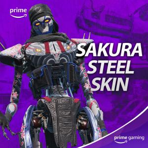 خرید اسکین Sakura Steel برای Apex
