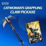 Catwoman's Grappling Claw Pickaxe