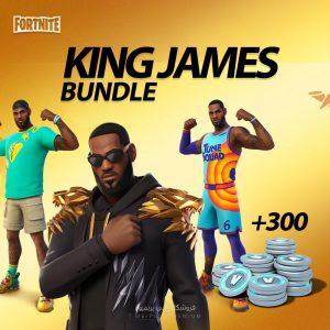 king james bundle fortnite